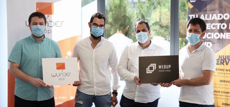 Acuerdo de colaboración entre Wunderapp y Webup Hosting