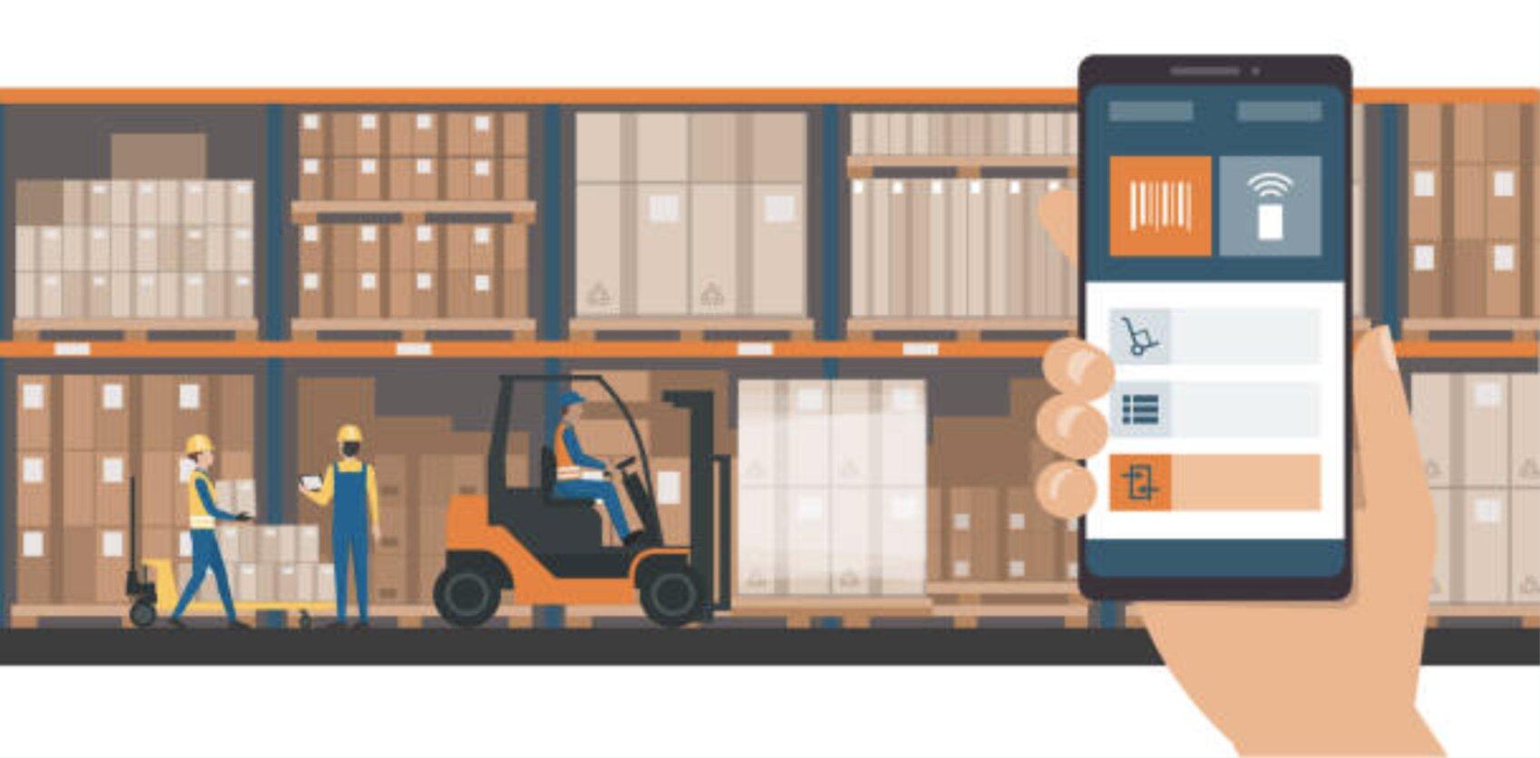 Gestor de almacenamiento y control de productos y ubicaciones